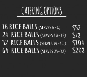 Catering Menu Options